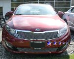 2011 Kia Optima Chrome Lower Bumper Wire Mesh Grille