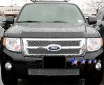 2012 Ford Escape Chrome Stainless Steel Wire Mesh Grille