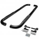 2006 Dodge Ram 1500 Mega Cab Nerf Bars Black 3 Inches