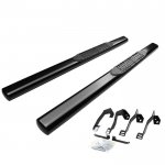 2005 Dodge Ram 3500 Regular Cab Nerf Bars Black 4 Inches Oval