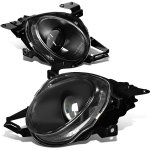 1993 Lexus SC400 Black High Beam Projector Headlights
