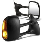 Ford F350 Super Duty 1999-2002 Towing Mirrors Power Heated Smoked Signal Lights