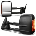Chevy Silverado 1999-2002 Towing Mirrors Power Heated LED Signal Lights