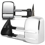 Chevy Avalanche 2003-2006 Chrome Towing Mirrors Power Heated