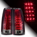 GMC Suburban 1992-1999 LED Tail Lights Red and Smoked