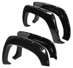 GMC Yukon 1992-1999 Fender Flares Smooth Rivet Bolt Style
