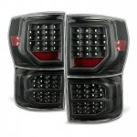 Toyota Tundra 2007-2013 Black LED Tail Lights