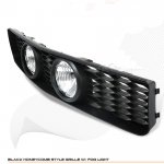 2007 Ford Mustang GT Black Grille and Fog Lights Set