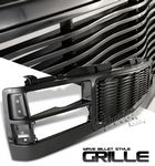 1997 GMC Sierra Black Wave Billet Grille