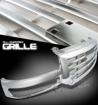 2003 GMC Sierra Chrome Billet Grille
