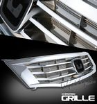 2008 Honda Acccord Sedan Chrome Replacement Grille