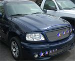 1999 Ford Expedition Polished Aluminum Billet Grille