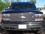 Chevy Silverado 1999-2002 Full Billet Grille