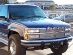1993 Chevy 3500 Pickup Polished Aluminum Billet Grille