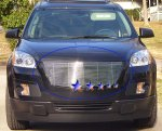 Saturn Outlook 2007-2009 Aluminum Billet Grille