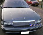 1993 Chevy Caprice Polished Aluminum Billet Grille