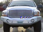 2006 Dodge Ram Polished Aluminum Billet Grille