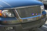 2004 Ford Expedition Polished Aluminum Billet Grille