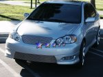 Toyota Corolla 2005-2008 Aluminum Lower Bumper Billet Grille