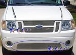2003 Ford Explorer Sport Trac Polished Aluminum Lower Bumper Billet Grille