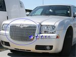 2008 Chrysler 300 Polished Aluminum Vertical Billet Grille