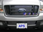 2004 Ford F150 Polished Aluminum Lower Bumper Billet Grille
