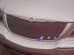 Chrysler Pacifica 2004-2006 Polished Aluminum Billet Grille