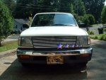 1998 Toyota Tacoma 2WD Aluminum Billet Grille