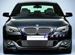 2006 BMW 5 Series Polished Aluminum Vertical Billet Grille