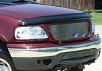 1999 Ford F150 4WD Polished Aluminum Lower Bumper Billet Grille