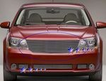 Dodge Avenger 2007-2011 Polished Aluminum Billet Grille