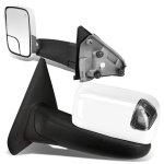 Dodge Ram 2500 2003-2009 Chrome Power Heated Towing Mirrors Smoked Signal Lights