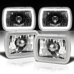 Jeep Wrangler 1987-1995 Halo Tube Sealed Beam Headlight Conversion