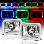 Jeep Wrangler 1987-1995 Color SMD LED Sealed Beam Headlight Conversion Remote