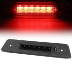 Jeep Liberty 2008-2012 Black Smoked LED Third Brake Light