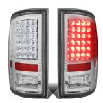 2009 Dodge Ram Chrome LED Tail Lights