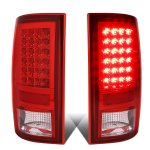 2010 Dodge Ram 3500 Red LED Tail Lights