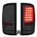 Dodge Ram 2500 2010-2018 Smoked LED Tail Lights