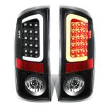 Dodge Ram 2500 2007-2009 Black LED Tail Lights Tube