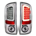 2008 Dodge Ram Chrome LED Tail Lights Tube