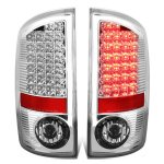 2009 Dodge Ram 2500 Chrome LED Tail Lights