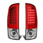 2009 Dodge Ram 2500 Red LED Tail Lights