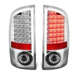 2004 Dodge Ram 3500 Chrome LED Tail Lights