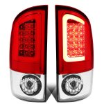 2005 Dodge Ram LED Tail Lights Red Tube
