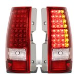 Chevy Suburban 2007-2014 Red LED Tail Lights