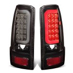 2006 GMC Yukon Smoked LED Tail Lights Tube