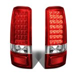 2002 GMC Yukon XL Red LED Tail Lights