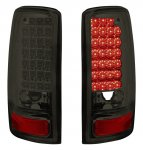 2002 GMC Yukon XL Smoked LED Tail Lights