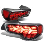 Scion FRS FT86 2013-2017 Black LED Tail Lights