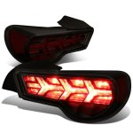 Scion FRS FT86 2013-2017 Black Smoked LED Tail Lights